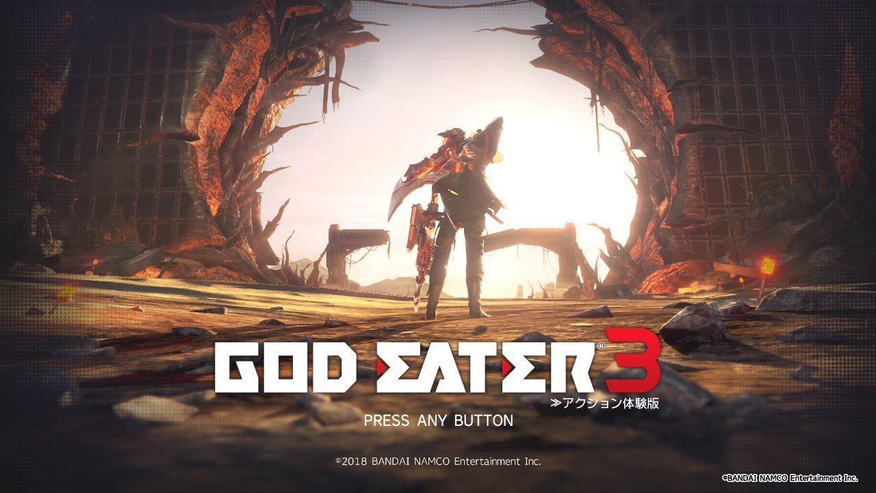 ゴッドイーター3 アクション体験版 新武器使ってみた Swaddling Games